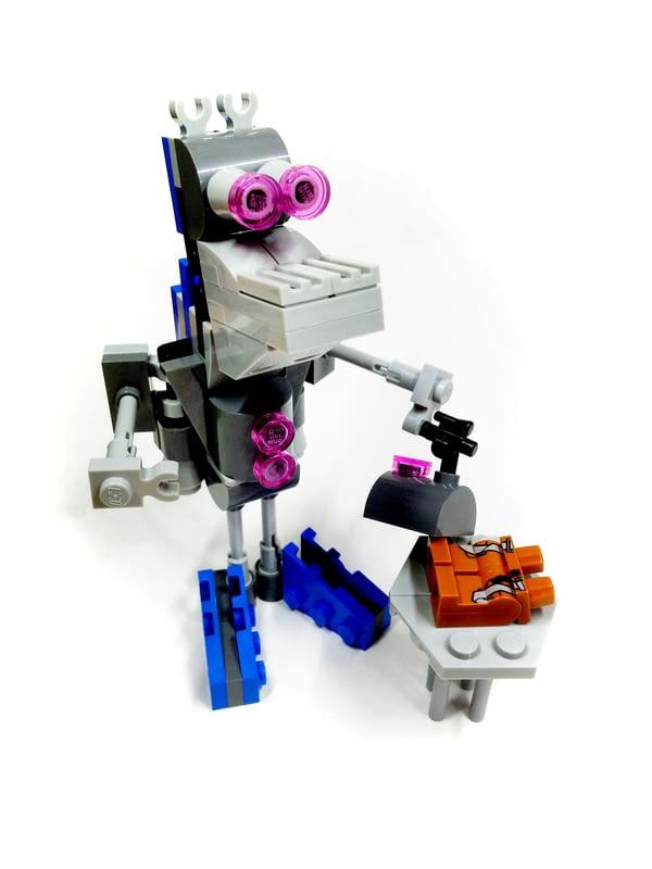 Helper Bot 75125 Alternate Build